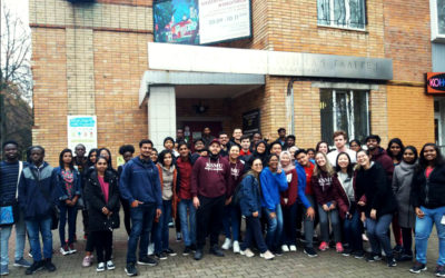 INTERNATIONAL STUDENTS OF KSMU VISITED KURSK PICTURE GALLERY….