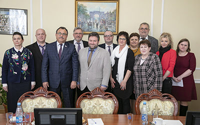 VISIT OF THE DELEGATION FROM GERMANY TO KSMU