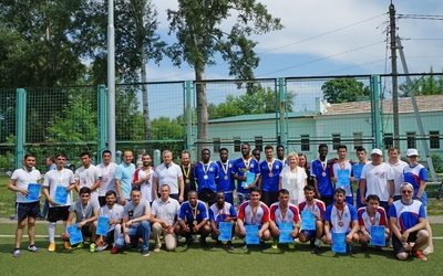 KSMU STUDENTS ARE THE WINNERS OF THE INTERNATIONAL STUDENT FOOTBALL TOURNAMENT