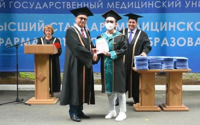 """ANNIVERSARY 45TH GRADUATION OF FOREIGN STUDENTS IN """"GENERAL MEDICINE"""" SPECIALTY"""